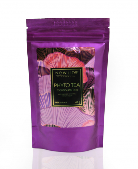 PHYTO TEA   Cardio Life Tea  Фиточай для нервной системы, сердца и сосудов